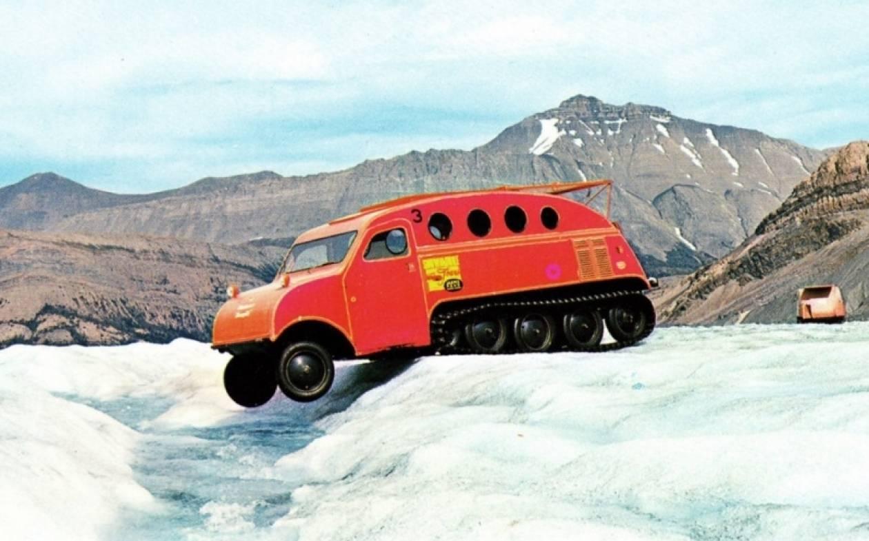 Snowmobiles: Χιόνια στο καμπαναριό και στους... δρόμους
