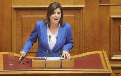 Ασημακοπούλου: Ο ΣΥΡΙΖΑ καλλιεργεί κλίμα ανευθυνότητας