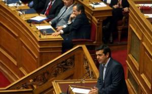 «Μπρα ντε φερ» Σαμαρά – Τσίπρα στη Βουλή