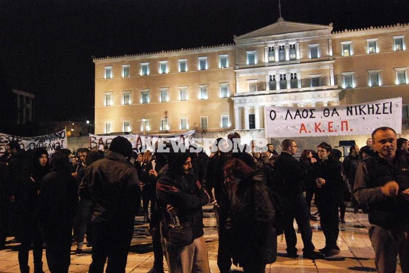 Σε εξέλιξη τα συλλαλητήρια για τον προϋπολογισμό (Photos)