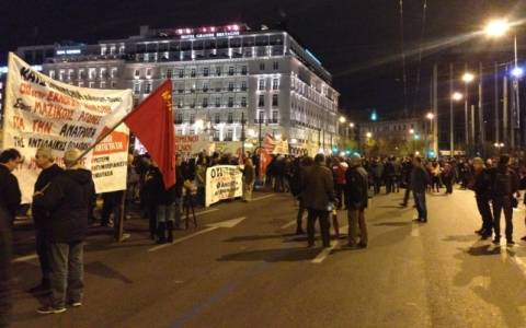 Ολοκληρώθηκαν τα συλλαλητήρια για τον προϋπολογισμό (Photos)