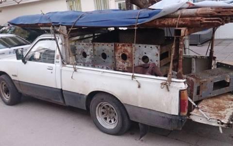 Τρεις συλλήψεις για κλοπή από τον ΟΣΕ Αμφίκλειας