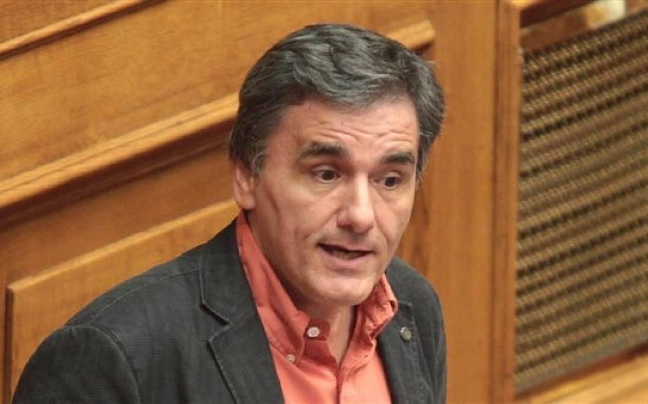 Επίθεση Τσακαλωτού σε Χαρδούβελη: «Απαξιώνεις τη Βουλή»