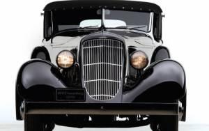 1935 Duesenberg SJ Town Cabriolet by Bohman & Schwartz