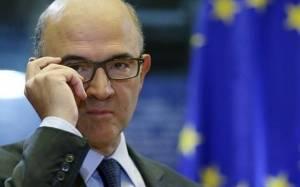 Μοσκοβισί: Να παραμείνει το ΔΝΤ στην Ελλάδα