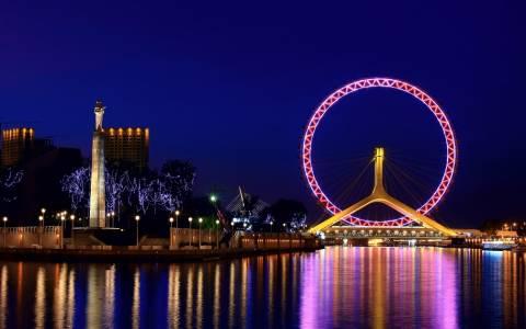 Tianjin Eye - Ο γιγάντιος τροχός της Κίνας