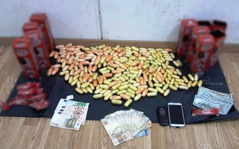 Σύλληψη Βραζιλιάνου στο Ελ. Βενιζέλος με πέντε κιλά κοκαΐνη