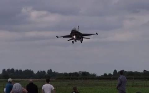 Μαχητικό F-16… ξύρισε τα κεφάλια Τούρκων!