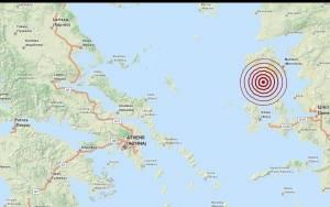 Σεισμός 3,6 Ρίχτερ νότια της Λέσβου