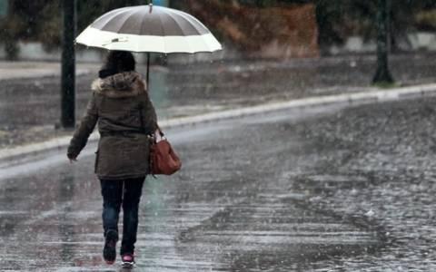 Καιρός: Συνεχίζονται οι ισχυρές βροχές- Πέφτει η θερμοκρασία