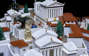 Μια Ακρόπολη από 120.000 Lego
