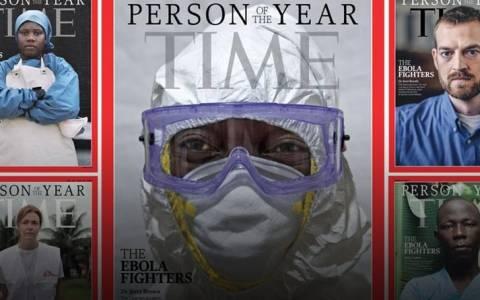 Time: Οι «μαχητές» κατά του Έμπολα το «Πρόσωπο της Χρονιάς»