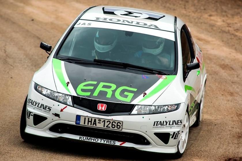 Honda: Τα Ελληνικά χρώματα στο Rally Monte Carlo