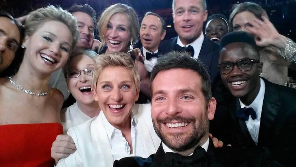 H selfie των σταρ στα φετινά Όσκαρ