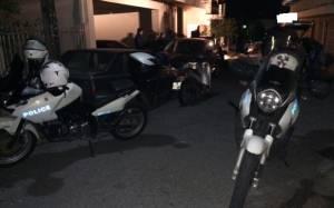 Eπίθεση με γκαζάκια σε κατοικία αξιωματικού της Αστυνομίας