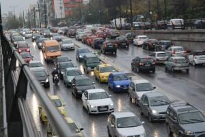 Κυκλοφοριακό έμφραγμα στην Κηφισίας