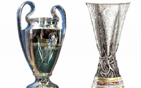 Οι κληρώσεις των Champions League και Europa League στη Nova