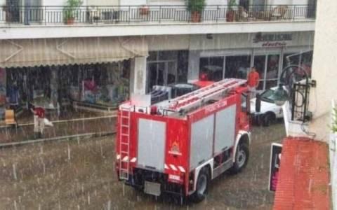 Αττική: 125 κλήσεις στην Πυροσβεστική για παροχή βοήθειας