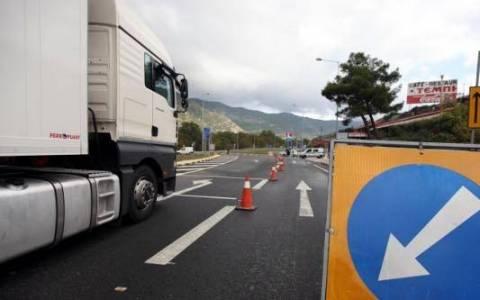 Κυκλοφοριακές ρυθμίσεις στην Αθηνών-Λαμίας λόγω άσκησης