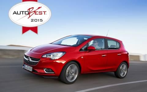 Opel: Το Corsa κερδίζει το βραβείο AUTOBEST 2015