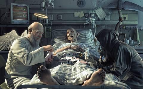 ΞΕΚΑΡΔΙΣΤΙΚΟ: O παππούς κι ο Χάρος!
