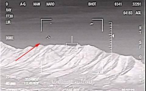 ΗΠΑ: Μαχητικό ήρθε αντιμέτωπο με εξωγήινο σκάφος; (video)