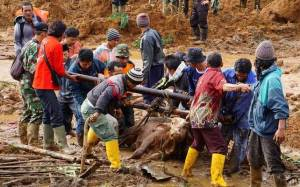 Ινδονησία: Πληθαίνουν τα θύματα από την κατολίσθηση