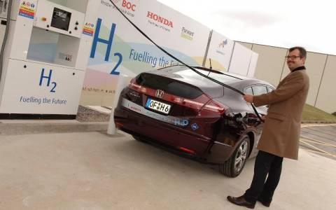 Honda: Ξεκινά το Δίκτυο Σταθμών Ανεφοδιασμού Υδρογόνου
