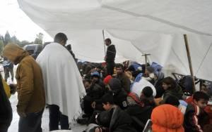 Έφυγαν από την πλατεία Συντάγματος οι Σύροι πρόσφυγες