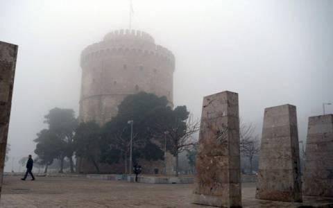 Καιρός: Πυκνή ομίχλη στη Θεσσαλονίκη