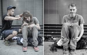 Ο κομμωτής των διάσημων και οι άστεγοι της Νέας Υόρκης