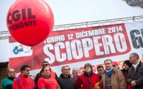 Παράλυση στο Βέλγιο από τη γενική απεργία