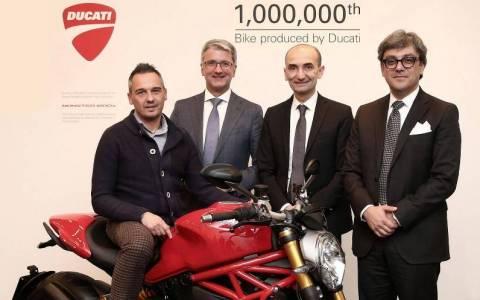 Ducati: Κατασκεύασε 1.000.000 μοτοσυκλέτες