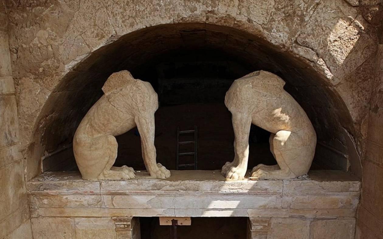 Η Αμφίπολη στις κορυφαίες αρχαιολογικές ανακαλύψεις του 2014