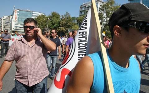 Διαμαρτυρία συνταξιούχων της ΕΛΒΟ