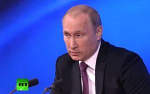 Πούτιν: «Είμαι ερωτευμένος..!»