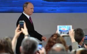 Πούτιν: Η σταθερότητα εξαρτάται από την υποστήριξη του λαού
