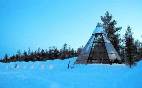 Κοιμηθείτε σε igloo στη Φινλανδία