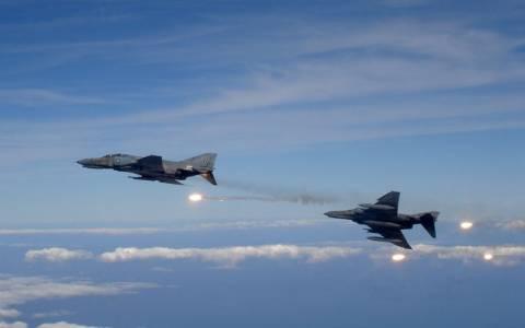 Αναχαίτιση τουρκικών αεροσκαφών από τον FIR Aθηνών