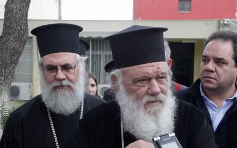 Ο Αρχιεπίσκοπος Ιερώνυμος στο Γενικό Νοσοκομείο Αεροπορίας