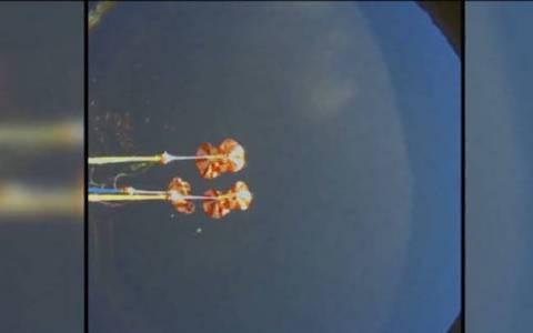 Η εντυπωσιακή… εισβολή διαστημικού σκάφος στην ατμόσφαιρα