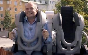 Volvo: Το Robocoaster από το λούνα παρκ στην ασφάλεια