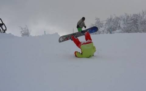 Πώς να μη φας τα μούτρα σου στο χιονοδρομικό!