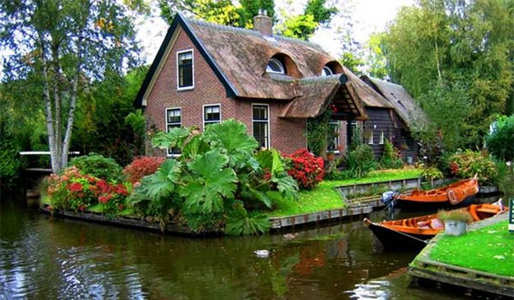 Giethoorn... η «Βενετία» της Ολλανδίας