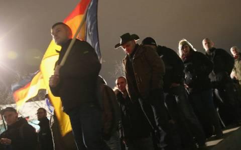 Δρέσδη: Πλημμύρισε από διαδηλωτές αντίθετους με το Ισλάμ