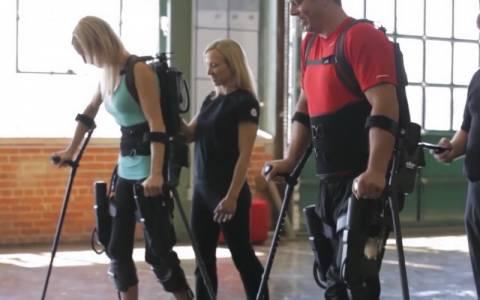Ο εξωσκελετός που βοηθάει άτομα με κινητικά προβλήματα (vid)