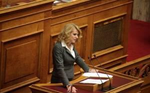 Εκλογή Προέδρου: «Παρών» ψήφισε η Θεοδώρα Τζάκρη