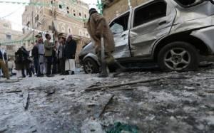 Υεμένη: Πέντε εκρήξεις στο κέντρο της Σαναά