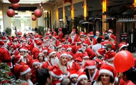 Ιωάννινα: Οι Άγιοι Βασίληδες τρέχουν στο Santa Run
