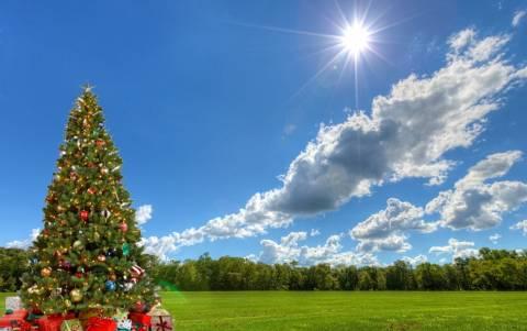 Με λιακάδα τα Χριστούγεννα, πότε χαλάει ο καιρός